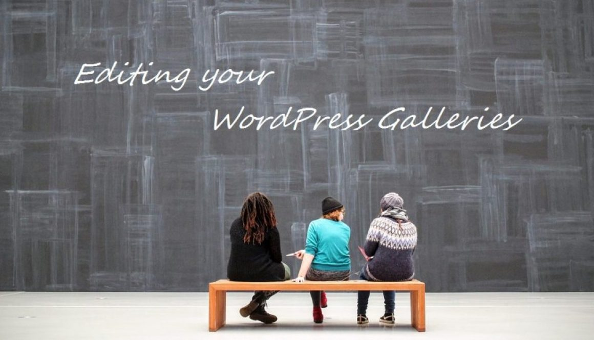 Editing Your WordPress Galleries