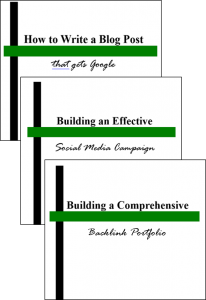 The Three Guide Bundle for Targeted SEO Expertise