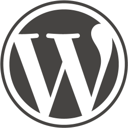Why Us? WordPress logo