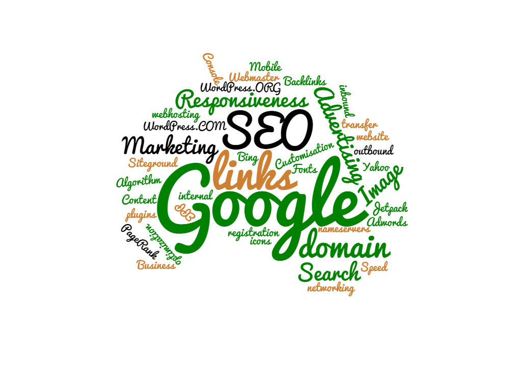 SEO Web Designs, Word Cloud, Marrying SEO