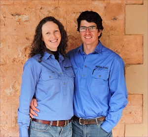 Josh and Peri McIntosh, Border Park Organics