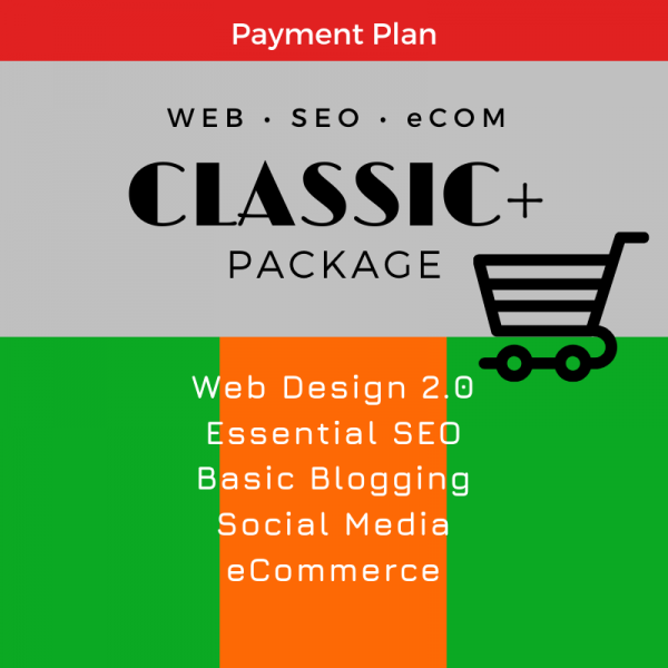 Classic eCom Package, SEO WEB Designs, Plan