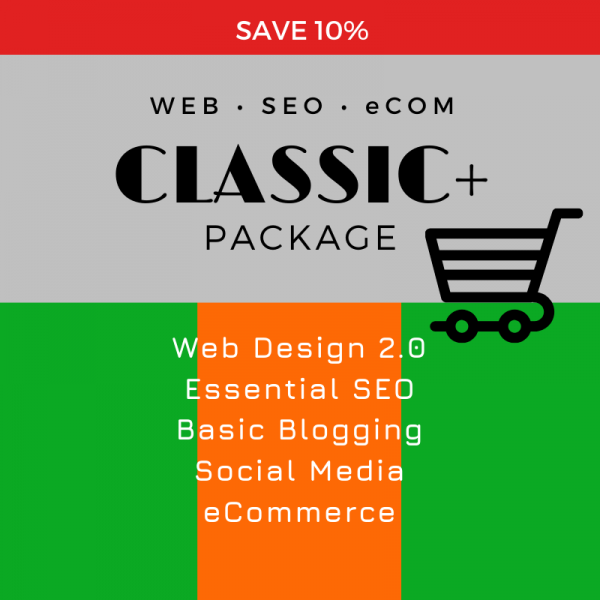 Classic eCom Package, SEO WEB Designs, Save10
