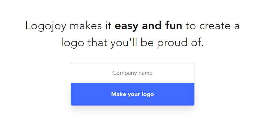 Logojoy, What's in a Logo