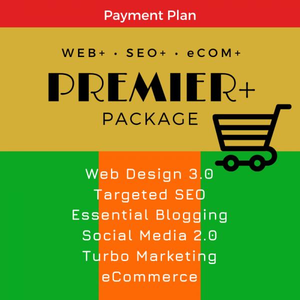 Premier eCom Package, SEO WEB Designs, Plan