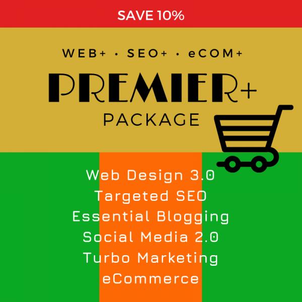 Premier eCom Package, SEO WEB Designs, Save10