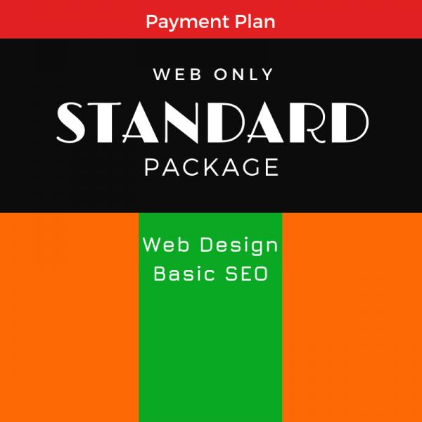 Standard Package, SEO WEB Designs, Plan