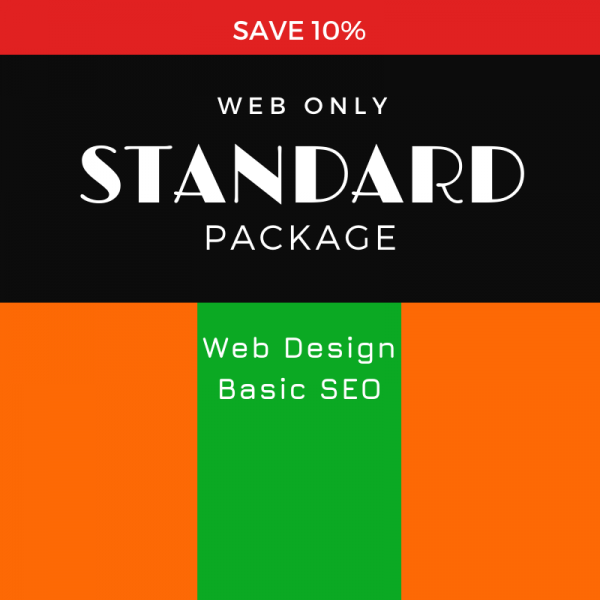 Standard Package, SEO WEB Designs, Save10