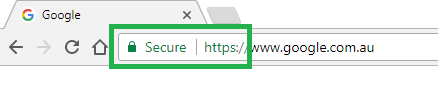 An SSL Certificate visible in the Chrome browser.