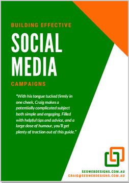 Building Effective Social Media Campaigns, SEO WEB Designs (44-Page PDF)