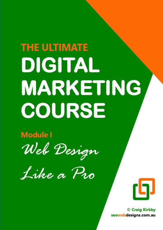 Digital Marketing Course, Module 1