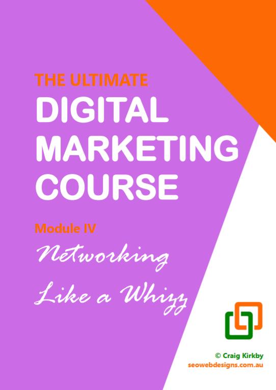 Digital Marketing Course, Module 4